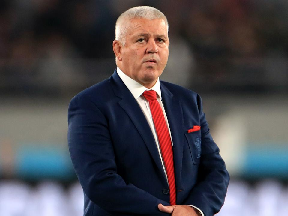 Gatland wants a captain who can guarantee their place in this Test squad firstPA