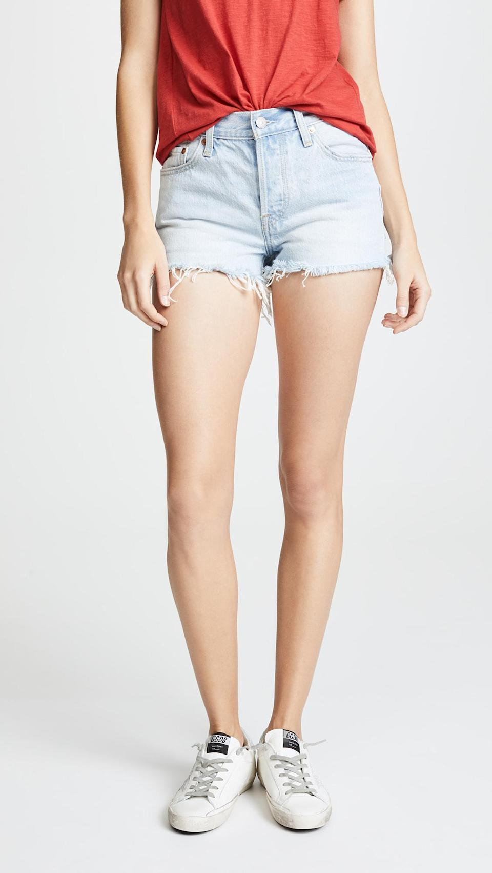 """<p>From Beyonce to Taylor Swift, these shorts are a celebrity-favorite, and now, they'll be your's too.</p><p>Buy it <a rel=""""nofollow noopener"""" href=""""https://www.amazon.com/dp/B07B3SDFN7?ie=UTF8&camp=1789&creative=9325&linkCode=as2&creativeASIN=B07B3SDFN7&tag=instycom00-20&ascsubtag=029cd223c961c8de5f42bbfdf1af55d4"""" target=""""_blank"""" data-ylk=""""slk:here"""" class=""""link rapid-noclick-resp"""">here</a> for $60.</p>"""