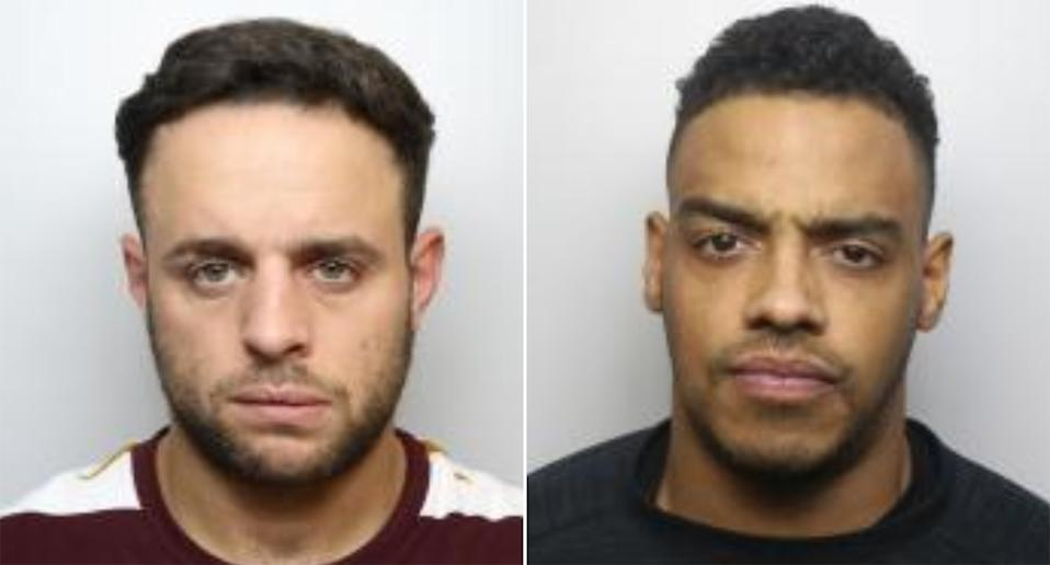 Dominic Bailey and Kieran Smith. (West Yorkshire Police)