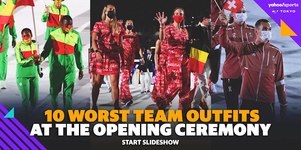 Worst Team Outfits