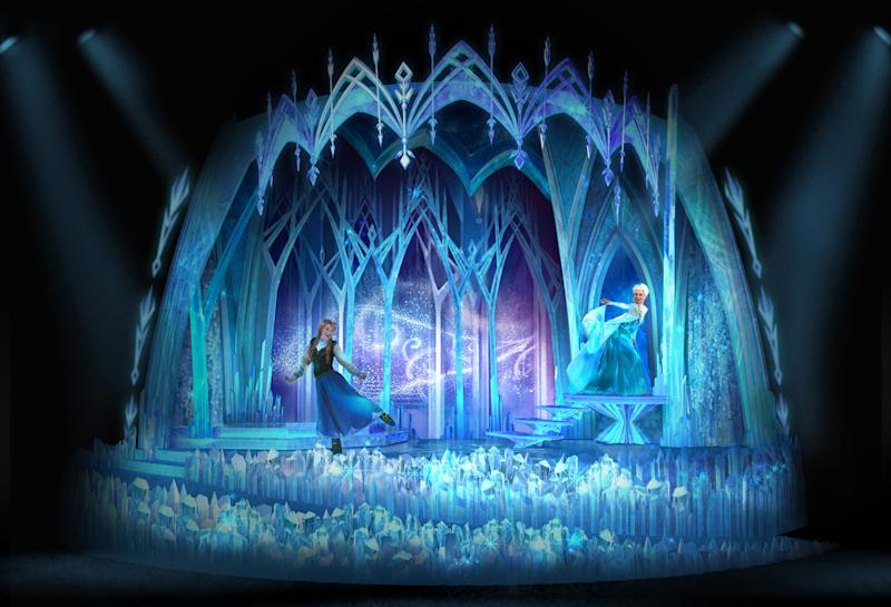 Guests can currently enjoy a Frozen experience at Disneyland Paris (Disneyland Paris)