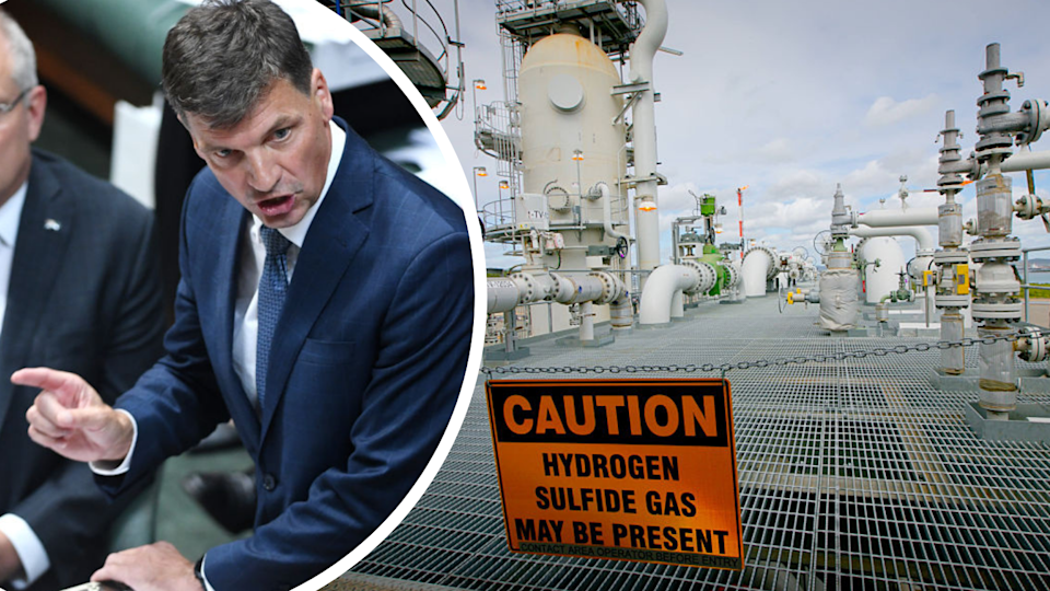 Energy Minister Angus Taylor's new Technology Investment Roadmap has been criticised for lack of substance. (Source: Getty)