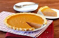 """<p>What's Thanksgiving, or fall in general, without some sort of pie? Sweet potato pie is a popular Southern dessert that's always a hit come turkey day. The dessert requires a handful of ingredients, so make sure none of your <a href=""""https://www.thedailymeal.com/what-is-the-shelf-life-of-rice-flour-pantry-staples?referrer=yahoo&category=beauty_food&include_utm=1&utm_medium=referral&utm_source=yahoo&utm_campaign=feed"""" rel=""""nofollow noopener"""" target=""""_blank"""" data-ylk=""""slk:pantry staples have expired"""" class=""""link rapid-noclick-resp"""">pantry staples have expired</a>.</p> <p><a href=""""https://www.thedailymeal.com/recipes/sweet-potato-pie-recipe-0?referrer=yahoo&category=beauty_food&include_utm=1&utm_medium=referral&utm_source=yahoo&utm_campaign=feed"""" rel=""""nofollow noopener"""" target=""""_blank"""" data-ylk=""""slk:For the Sweet Potato Pie recipe, click here."""" class=""""link rapid-noclick-resp"""">For the Sweet Potato Pie recipe, click here.</a></p>"""