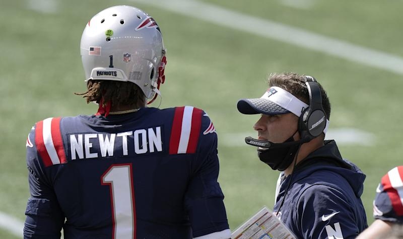 Josh McDaniels explains how he's rebuilt the playbook around Cam Newton's strengths