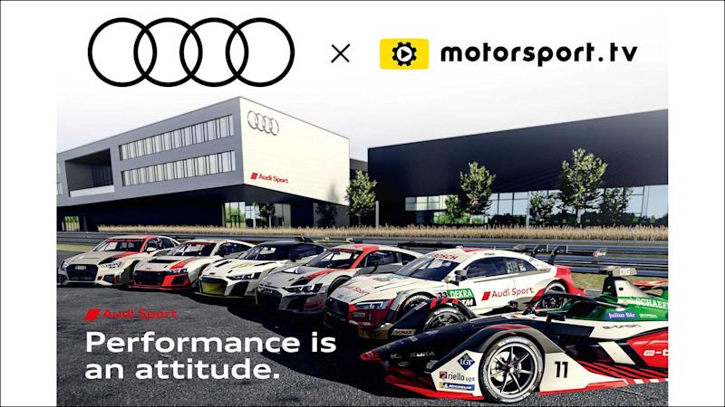 Audi-Channel auf Motorsport.tv