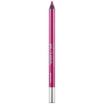 """<p><strong>Urban Decay</strong></p><p>sephora.com</p><p><strong>$29.50</strong></p><p><a href=""""https://go.redirectingat.com?id=74968X1596630&url=https%3A%2F%2Fwww.sephora.com%2Fproduct%2F24-7-glide-on-eye-pencil-P133707&sref=https%3A%2F%2Fwww.goodhousekeeping.com%2Fbeauty-products%2Fg36814838%2Fcolorful-eyeliner%2F"""" rel=""""nofollow noopener"""" target=""""_blank"""" data-ylk=""""slk:Shop Now"""" class=""""link rapid-noclick-resp"""">Shop Now</a></p><p>This eyeliner glides right onto eyelids for a punch of neon pink that's <strong>daring but still looks sweet</strong>. """"I've been using this eyeliner in all different shades since I was in middle school and I'll never change,"""" one reviewer says. """"It stays on very well and allows for creative application.""""</p>"""