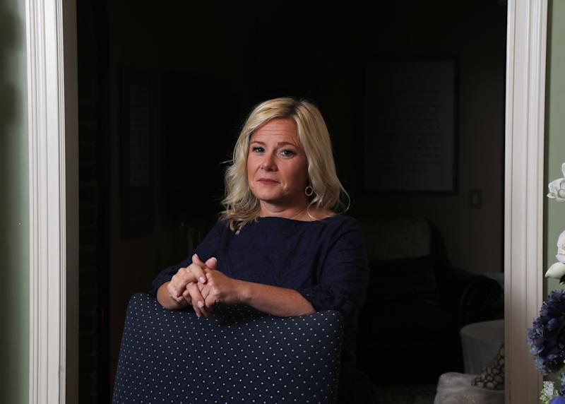 Bridget Anne Kelly at her home two days before she is sentenced for her role in Bridgegate.