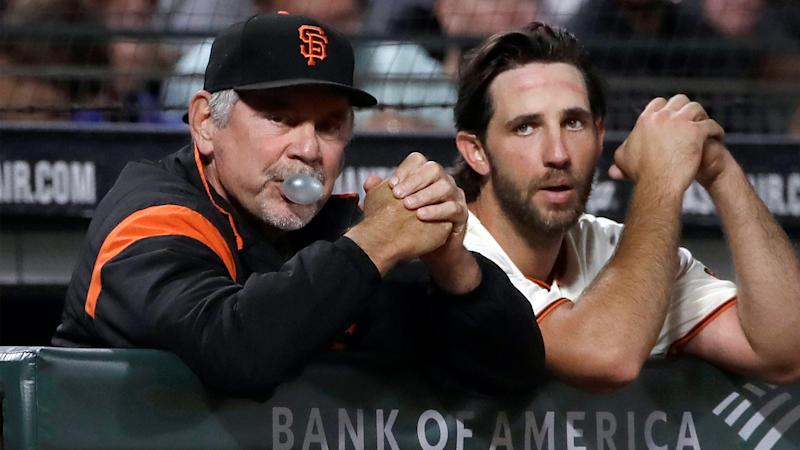 Giants have lined up Madison Bumgarner to start Bruce Bochy's last game