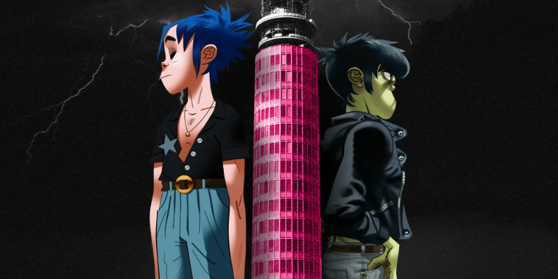 Watch Gorillaz's First Ever Live Animated Interview
