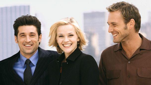 PHOTO: Patrick Dempsey, Reese Witherspoon and Josh Lucas appear in a scene from 'Sweet Home Alabama.' (Moviestore/REX via Shutterstock )