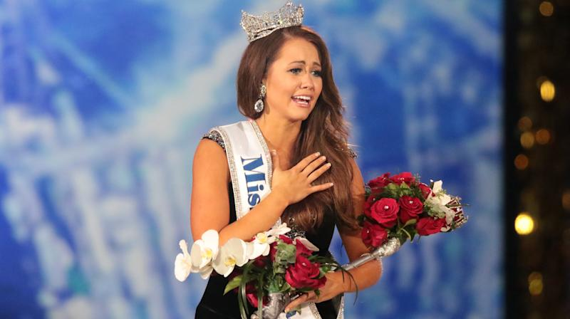 Miss North Dakota Cara Mund Is Crowned State's First-Ever Miss America