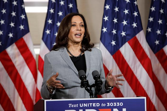 Kamala Harris and Mike Pence will debate with a plexiglass shield between them to prevent any spread of coronavirus. (REUTERS)