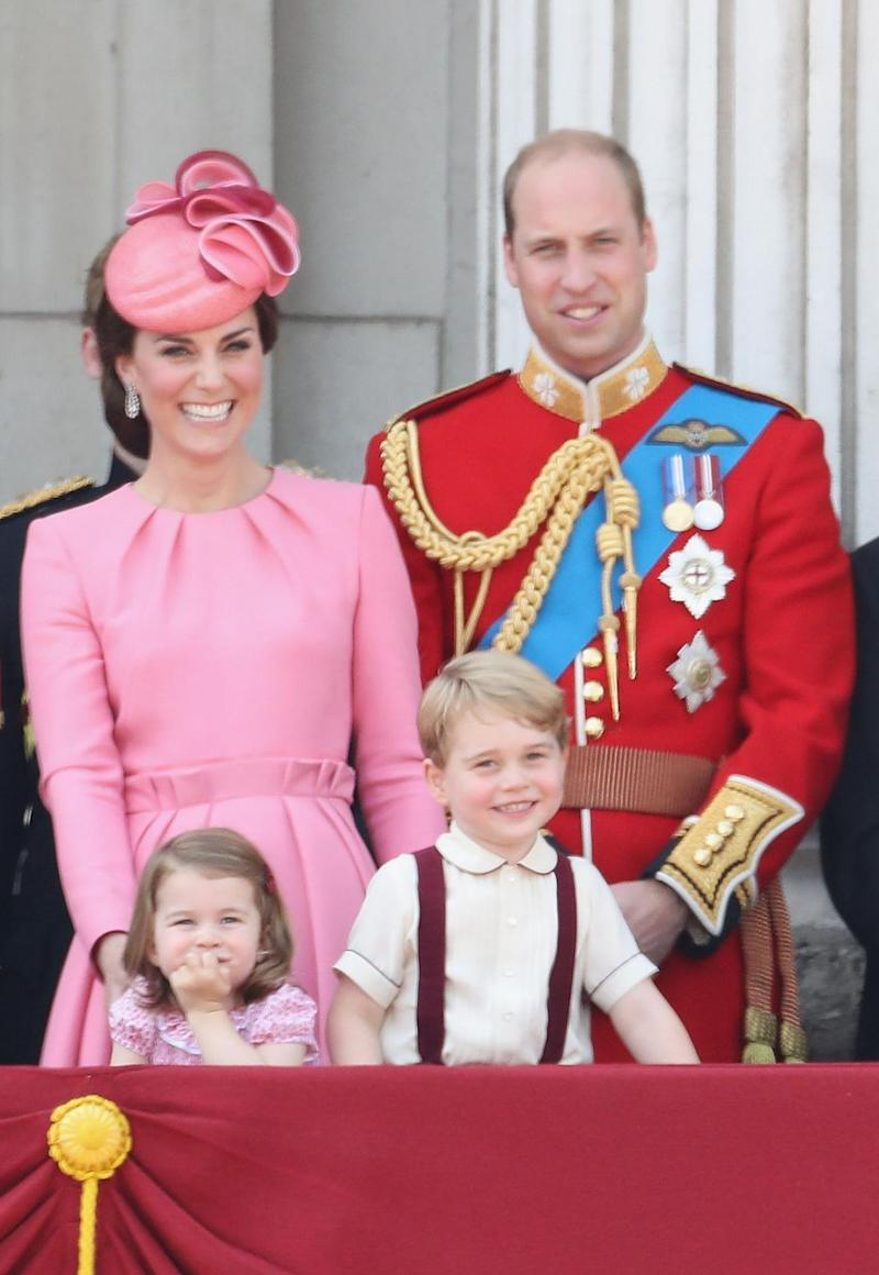 Kate and Wills didn't waste time welcoming Prince George and Princess Charlotte - with another just weeks away. Photo: Getty