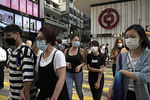 Hong Kong has been hit with 5,201 infections since the coronavirus crisis emerged in the city in January. Photo: AP
