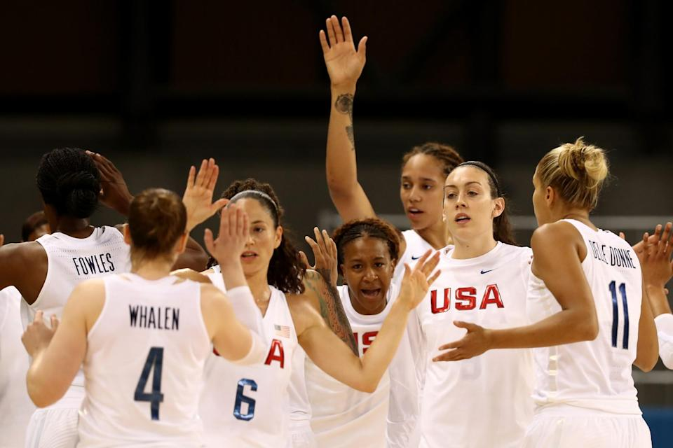 The U.S. women cruised over Senegal (Getty Images).