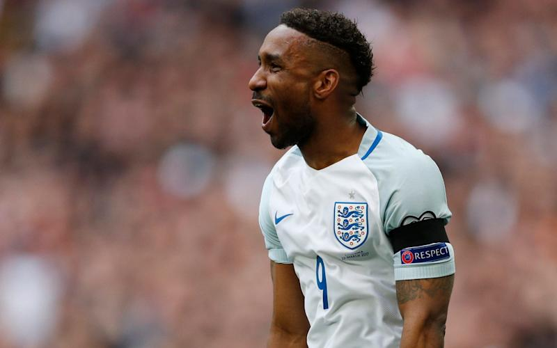 Defoe is back in the England squad at 34 years old and trying to prolong his time at the top - REUTERS