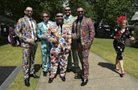 The hordes of colourfully-dressed punters will be missing at this year's Melbourne Cup