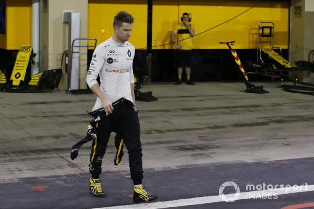 "Race retiree Nico Hulkenberg, Renault Sport F1 Team <span class=""copyright"">Manuel Goria / Sutton Images</span>"