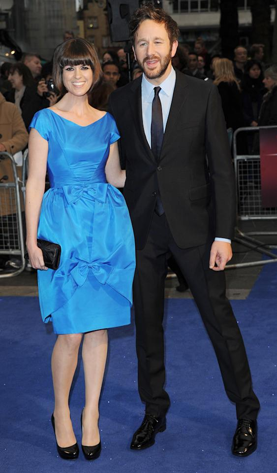 LONDON, UNITED KINGDOM - OCTOBER 15: Dawn Porter and Chris O'Dowd attend the Premiere of 'The Sapphires' during the 56th BFI London Film Festival at Odeon West End on October 15, 2012 in London, England. (Photo by Stuart Wilson/Getty Images)
