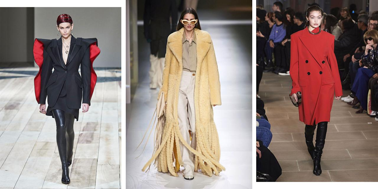 <p>Whether this side of the pond or abroad, Fashion Week is a time for sartorial innovation and risks. Here, the fashion editors at <em>Harper's BAZAAR</em> choose their favorite runway looks from the fall 2020 season and discuss the aesthetic, cultural, and business ramifications of some truly stellar runway moments. There may be fear of a pandemic, half of the PR reps and editors never made it to Europe this season, and more than one runway nodded to the apocalypse, but consider these the moments of brightness. </p>