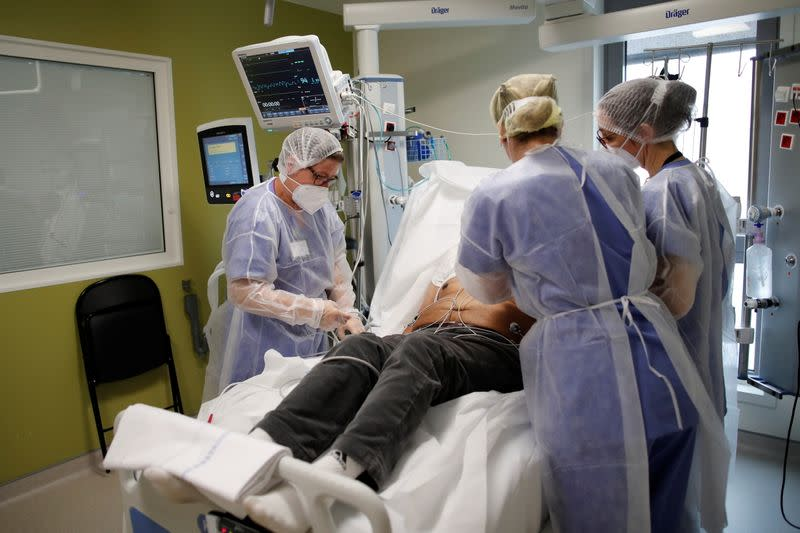 French hospital faces second wave of COVID-19 patients