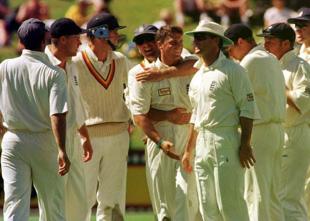Darren Gough was one of the most successful bowlers for England during the 1990s