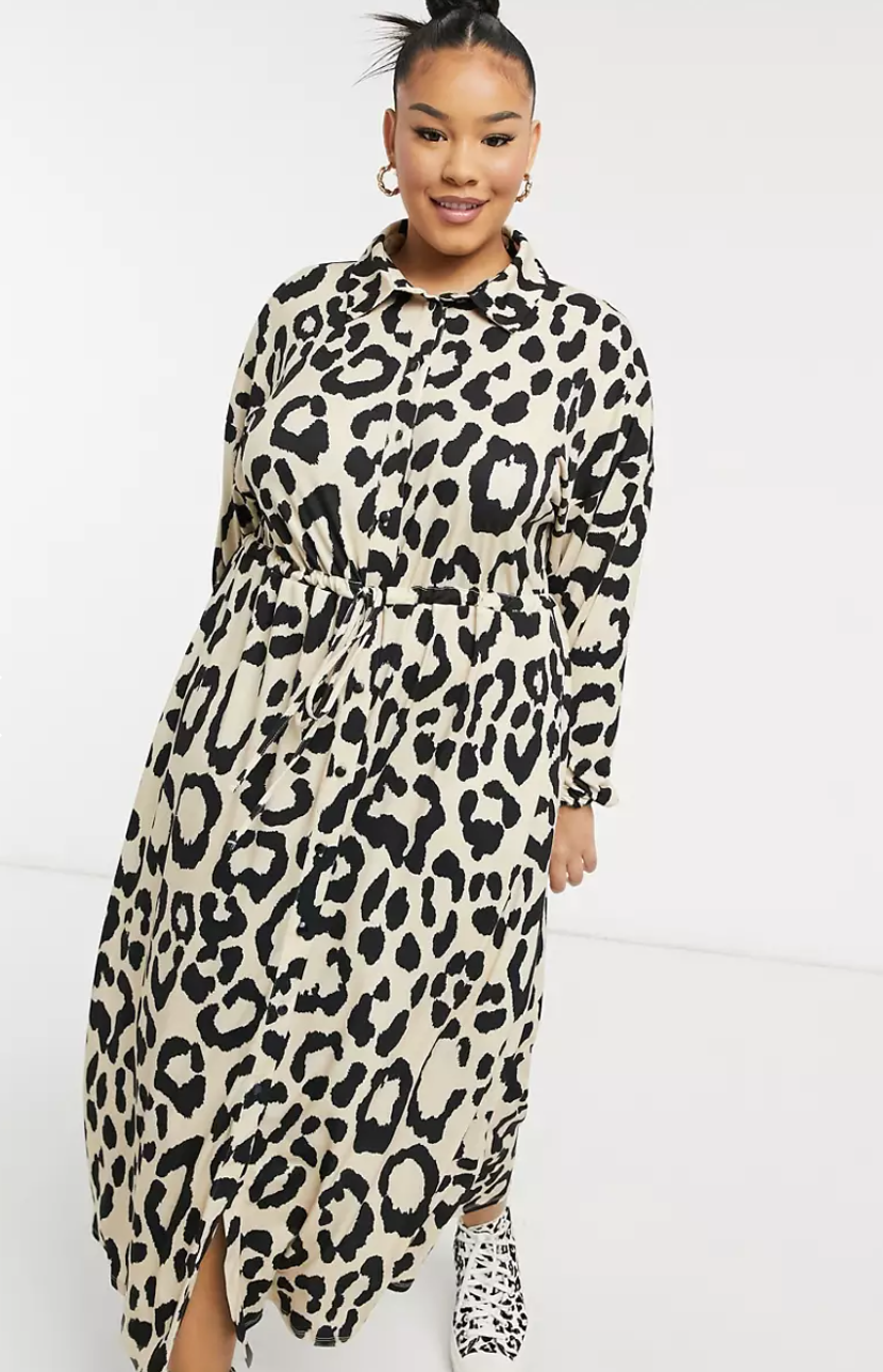"""<p><strong>ASOS DESIGN </strong></p><p>us.asos.com</p><p><strong>$35.00</strong></p><p><a href=""""https://go.redirectingat.com?id=74968X1596630&url=https%3A%2F%2Fwww.asos.com%2Fus%2Fasos-curve%2Fasos-design-curve-midi-shirt-dress-in-leopard-print%2Fprd%2F22035784&sref=https%3A%2F%2Fwww.goodhousekeeping.com%2Fclothing%2Fg27816744%2Fbest-fall-dresses%2F"""" rel=""""nofollow noopener"""" target=""""_blank"""" data-ylk=""""slk:Shop Now"""" class=""""link rapid-noclick-resp"""">Shop Now</a></p><p>Make a statement in a playful leopard printed midi dress. You can wear it bare-legged with white sneakers in early fall, then swap it out for a pair of thick black tights and booties once the temperature really drops. </p>"""