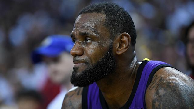 The Los Angeles Lakers were officially eliminated from playoff contention in the NBA.