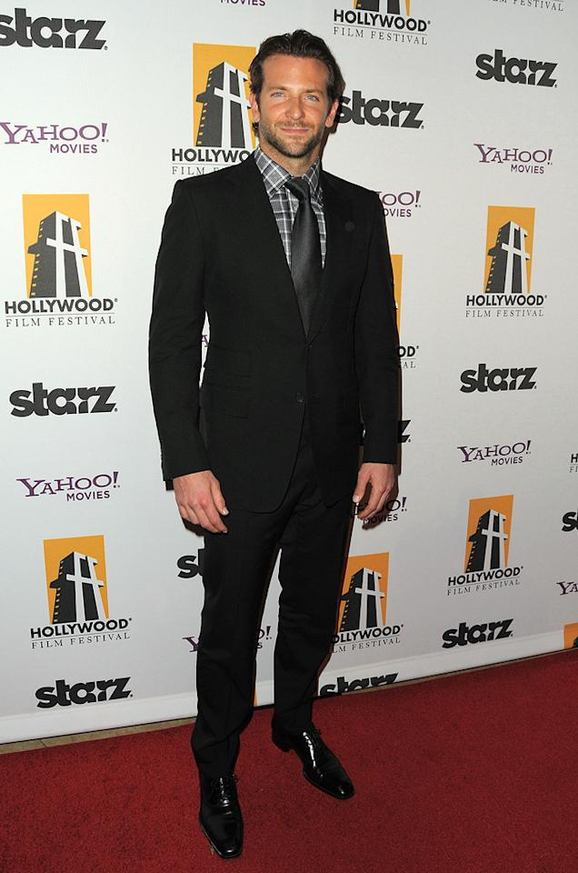 """<a href=""""http://movies.yahoo.com/movie/contributor/1804751131"""">Bradley Cooper</a> at the 13th Annual Hollywood Awards Gala held at the Beverly Hilton Hotel - 10/26/2009"""