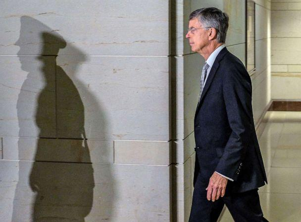 PHOTO: Bill Taylor arrives on Capitol Hill on Oct. 22, 2019 in Washington, D.C. (Alex Wroblewski/Getty Images, FILE)