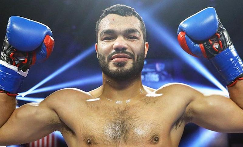 Vikas Krishan poses after his fight against Steven Andrade in January. Image courtesy: Top Rank Boxing