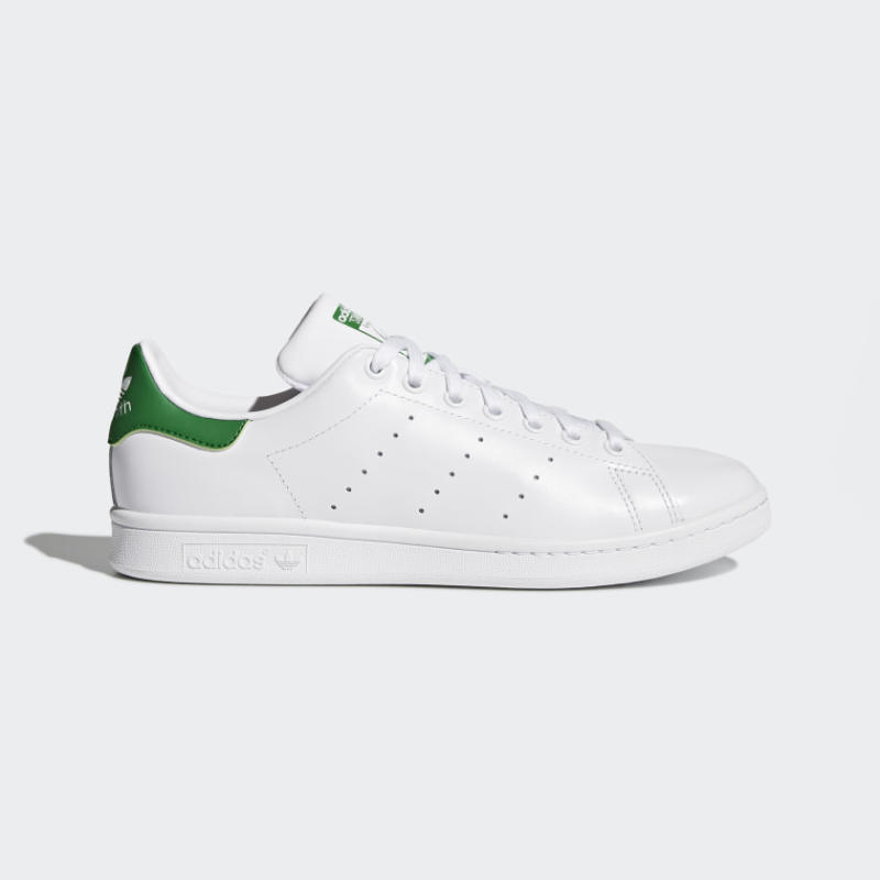 Stan Smith Shoes in cloud white/green