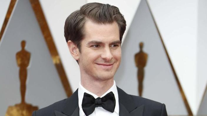"""Andrew Garfield says he will not be in the upcoming Marvel movie """"Spider-Man: No Way Home."""" <span class=""""copyright"""">(Jay L. Clendenin / Los Angeles Times)</span>"""