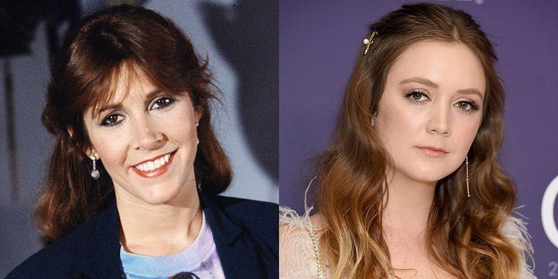 <p>At 26, Carrie Fisher had already starred in two <em>Star Wars </em>movies as Princess Leia. As for Billie Lourd, Carrie's daughter with Bryan Lourd, she's starred in the TV series <em>Scream Queens </em>and appeared in multiple <em>Star Wars </em>installments as Lieutenant Connix.</p>