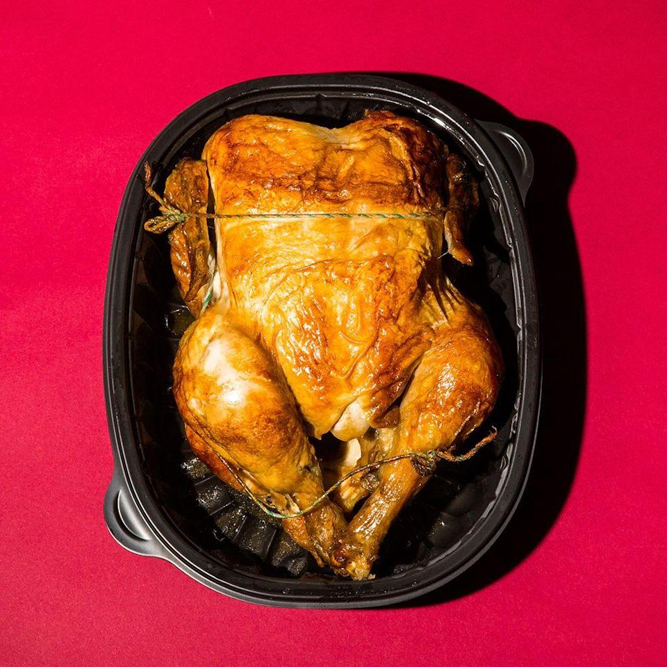 """<p>The rotisserie chicken, which is always $4.99, is also a considerable loss leader. Costco estimates it <a href=""""https://www.seattletimes.com/business/retail/costco-philosophical-about-chicken-prices/"""" rel=""""nofollow noopener"""" target=""""_blank"""" data-ylk=""""slk:loses $30 to $40 million"""" class=""""link rapid-noclick-resp"""">loses $30 to $40 million</a> a year to keep its chicken prices that low.</p>"""