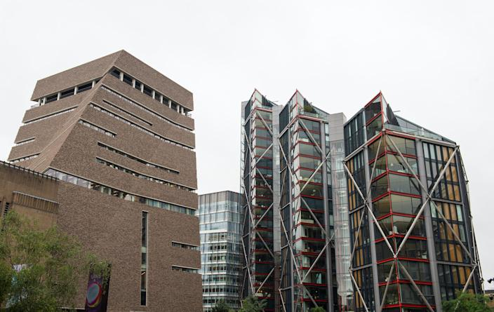 Tate Modern in central London (PA)