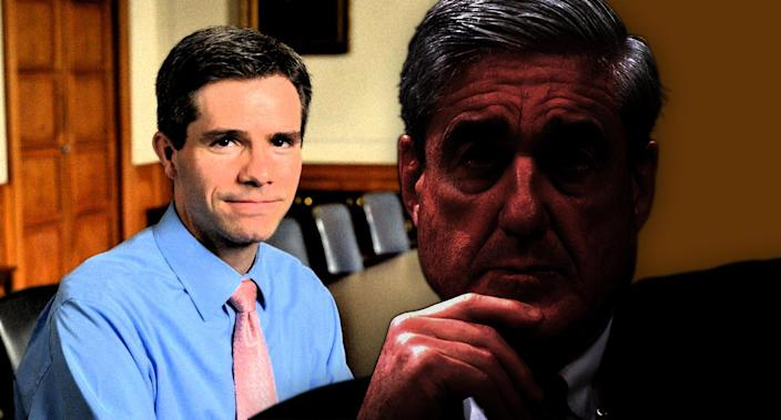 Peter Carr and Robert Mueller (Photo illustration: Yahoo News; photos: Courtesy of Peter Carr, AP)