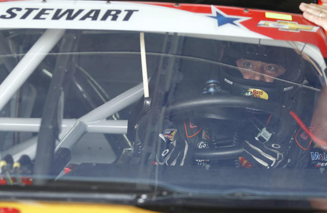 No decision made on Stewart's status for Bristol, Chase is of 'lowest priority'