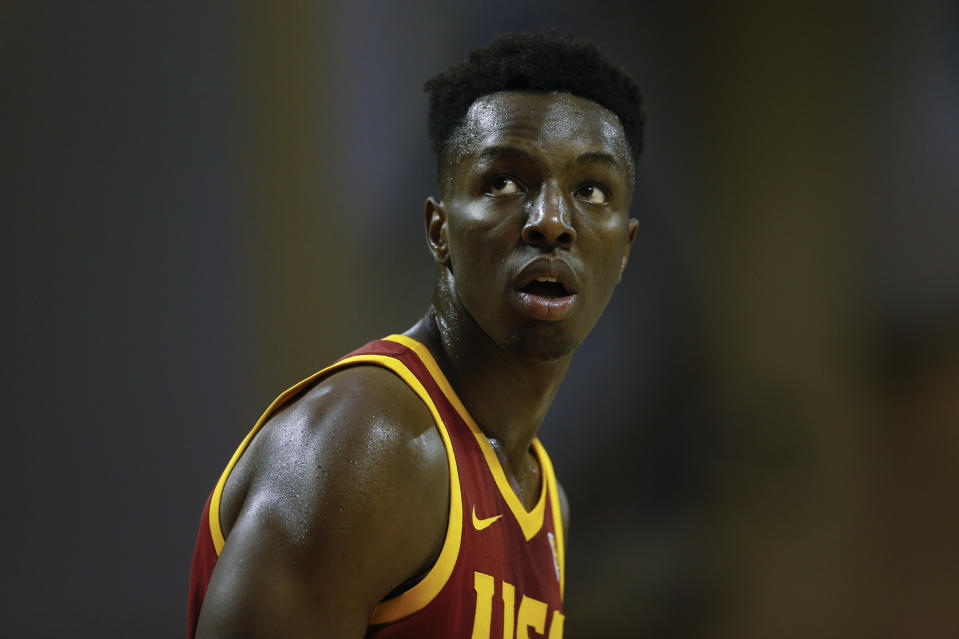 USC Trojans forward Onyeka Okongwu (21) during the 2019 Orlando Invitational mens college basketball game between the USC Trojans and Marquette Golden Eagles on November 29, 2019 at the HP Field House.