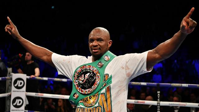 Heavyweight duo Dillian Whyte and Tyson Fury - who is expected to fight Deontay Wilder next - have exchanged words on social media.