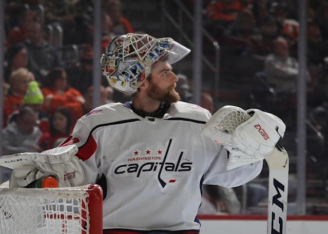 Washington Capitals goaltender Braden Holtby says he will not join the team in Monday's visit to the White House (AFP Photo/BRUCE BENNETT)