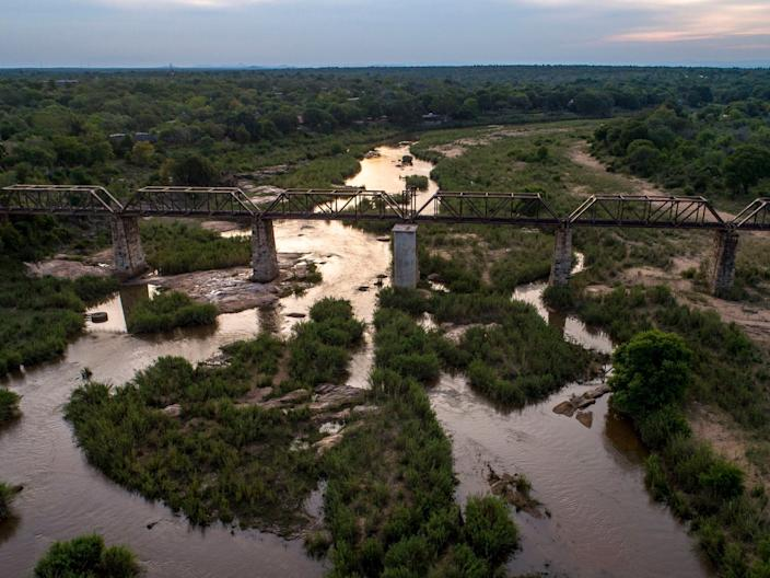 Kruger Shalati Lodge Location - Bridge View 1