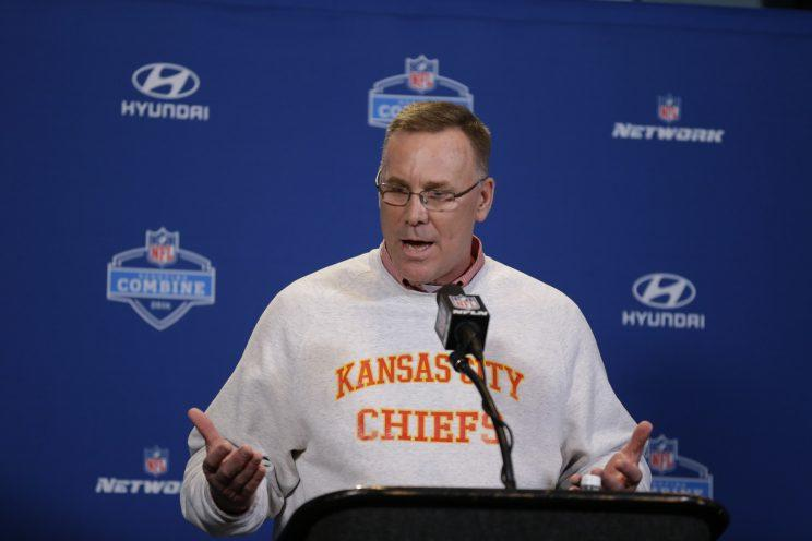 GM John Dorsey and the Chiefs will part ways after the season. (AP)