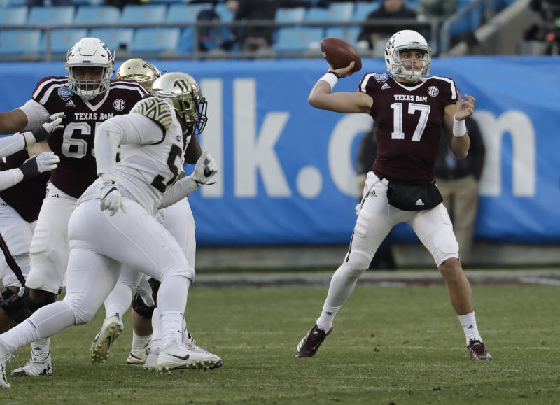 Texas A&M QB Nick Starkel will pursue a graduate transfer