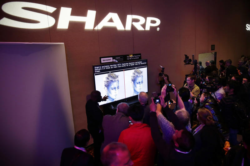 Sharp unveils TV positioned between HD and 4K