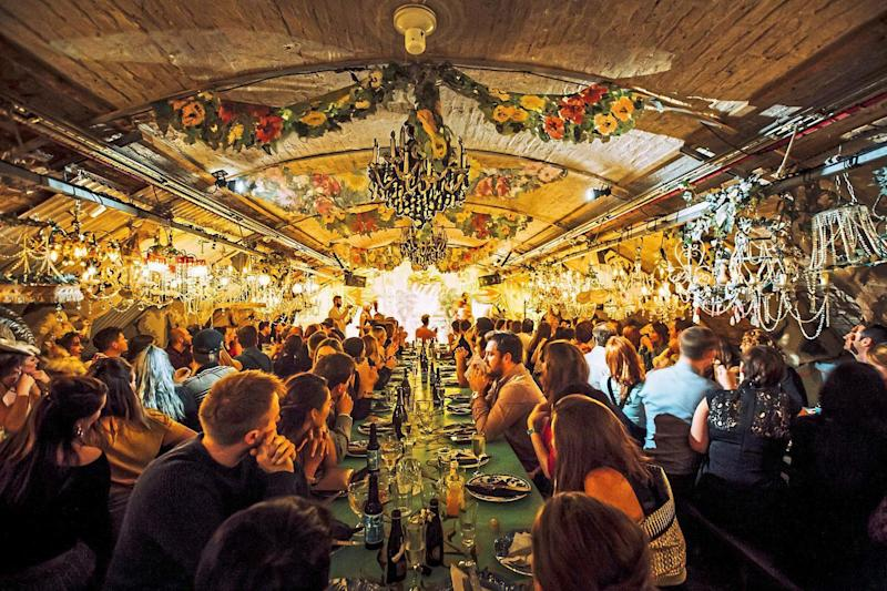Feast for the senses: Theatre dinner shows are the capital's ultimate new foodie trend