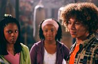 "<p>Starring <strong><a class=""link rapid-noclick-resp"" href=""https://www.popsugar.com/latest/High-School-Musical"" rel=""nofollow noopener"" target=""_blank"" data-ylk=""slk:High School Musical"">High School Musical</a></strong>'s Corbin Bleu and <strong>True Jackson VP</strong>'s Keke Palmer, <strong>Jump In!</strong> focuses on a hallmark of the Black childhood: double dutch. When boxer and alpha male Izzy Daniels finds himself intrigued with the skill and intricate moves of the activity, he must make a choice: his dream and that of his dad. A Disney Channel Original Movie, <strong>Jump In!</strong> is one of the few with a primarily Black cast.</p> <p><a href=""https://www.disneyplus.com/movies/jump-in/3YEuVnzD7JCE"" class=""link rapid-noclick-resp"" rel=""nofollow noopener"" target=""_blank"" data-ylk=""slk:Watch Jump In! on Disney+"">Watch <strong>Jump In!</strong> on Disney+</a>.</p>"