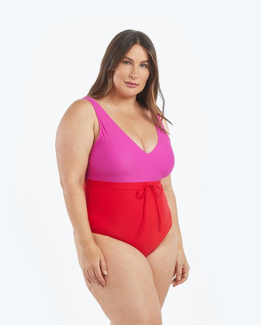 <p>I am also a big fan of this <span>The Tie Waist Backflip in Lava &amp; Hibiscus</span> ($95) - the colors are so cheeful.</p>
