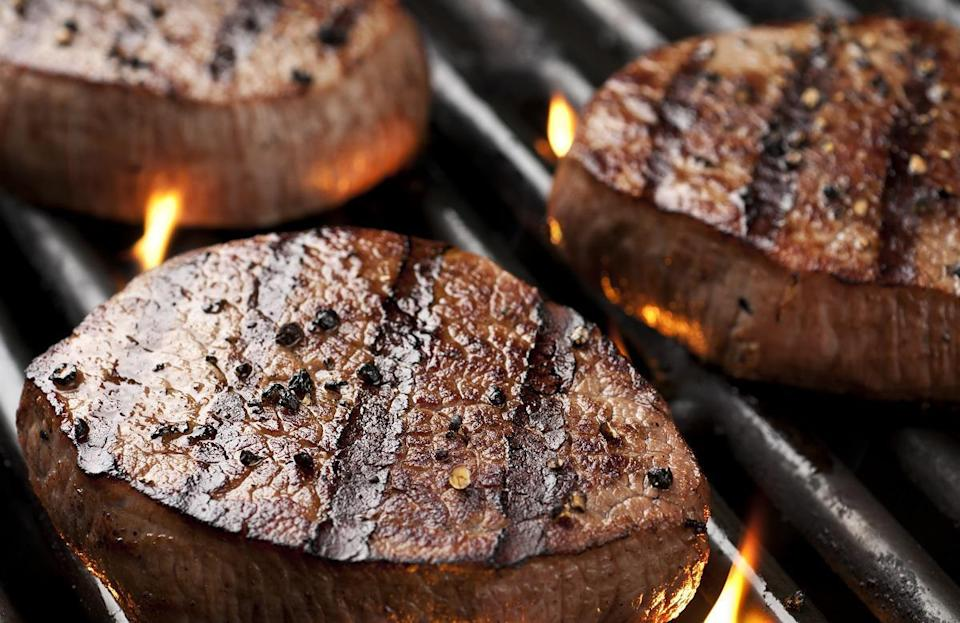 "<p>In New Jersey, the most uniquely searched grilling tip is for how to grill filet mignon. When cooking a steak on the grill, make sure you season generously — a <a href=""https://www.thedailymeal.com/eat/steakhouse-secrets-gallery?referrer=yahoo&category=beauty_food&include_utm=1&utm_medium=referral&utm_source=yahoo&utm_campaign=feed"" rel=""nofollow noopener"" target=""_blank"" data-ylk=""slk:steakhouse secret everyone should know"" class=""link rapid-noclick-resp"">steakhouse secret everyone should know</a>. Then, sear the meat on each side for two to four minutes over high heat. After searing the steak, move it to lower heat and let it cook until you reach your desired level of doneness.</p>"