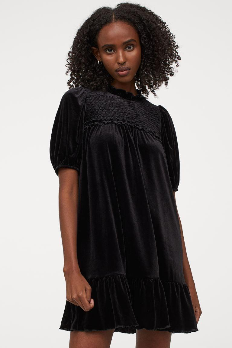 <p>This <span>Puff-sleeved Dress</span> ($18) packs so much drama and elegance.</p>